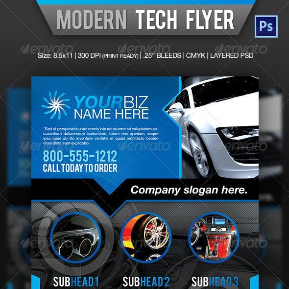Modern Tech Flyer