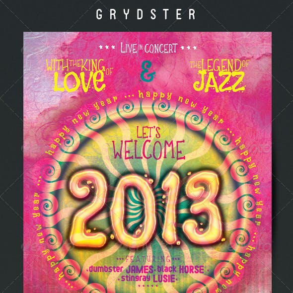 New Year Flyer - Poster