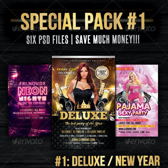 Special Pack 01 | Flyers + Facebook Covers