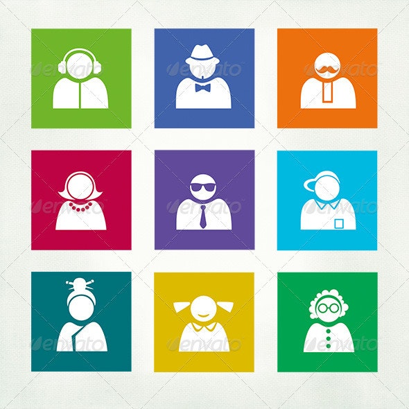 Buddy Icons for Windows 8 - Decorative Symbols Decorative