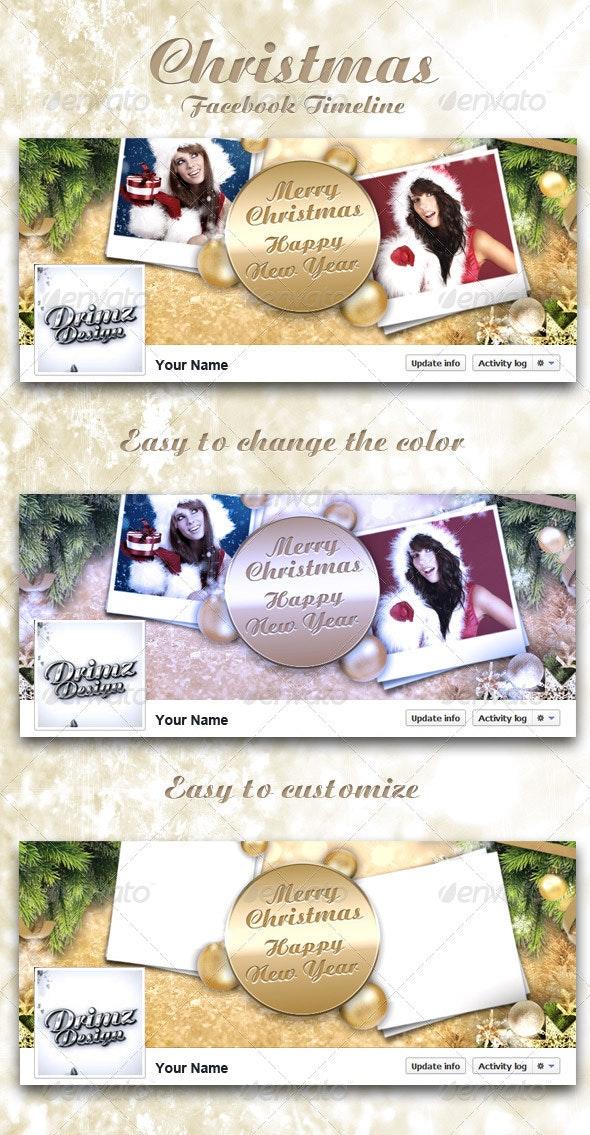 Christmas FB Timeline V4 - Facebook Timeline Covers Social Media
