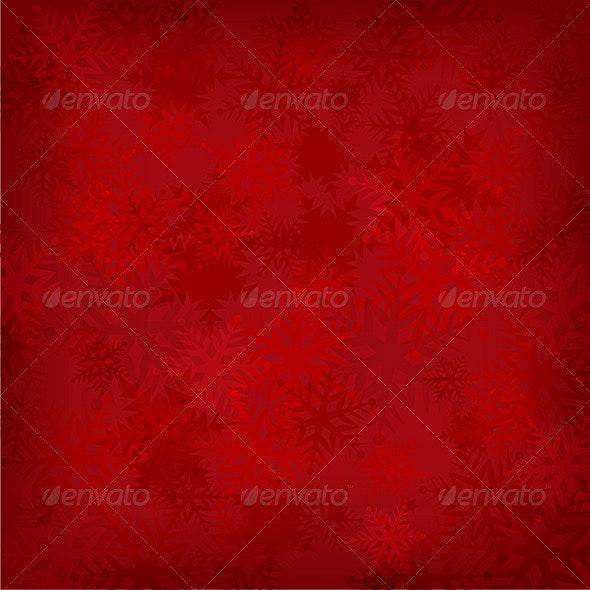 Snowflake Background - Christmas Seasons/Holidays