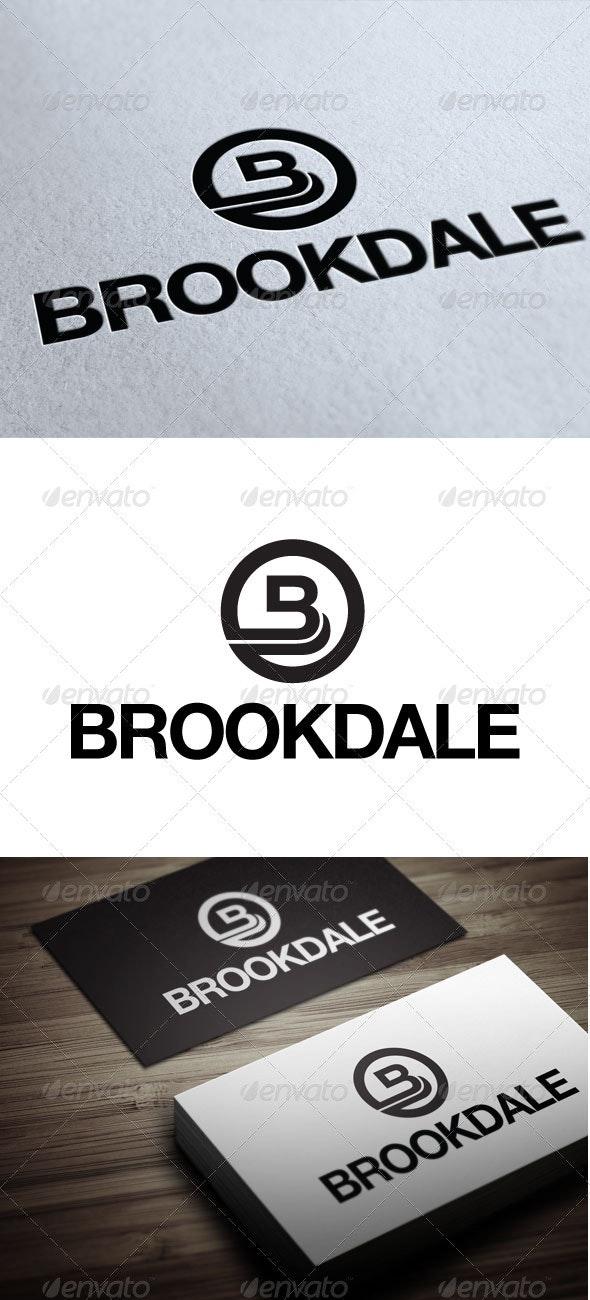 Brookdale - Letters Logo Templates