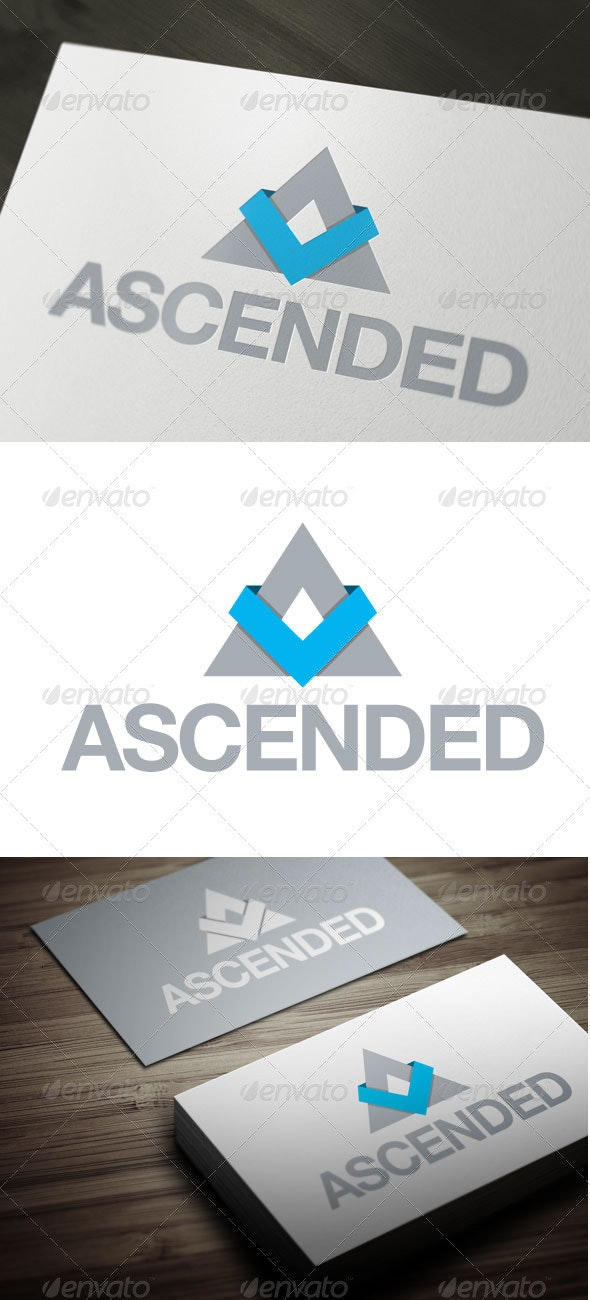 Ascended - Letters Logo Templates