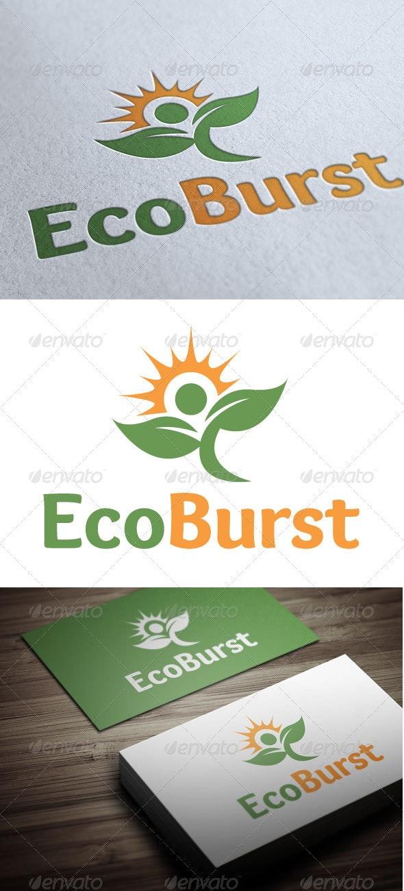 EcoBurst - Nature Logo Templates