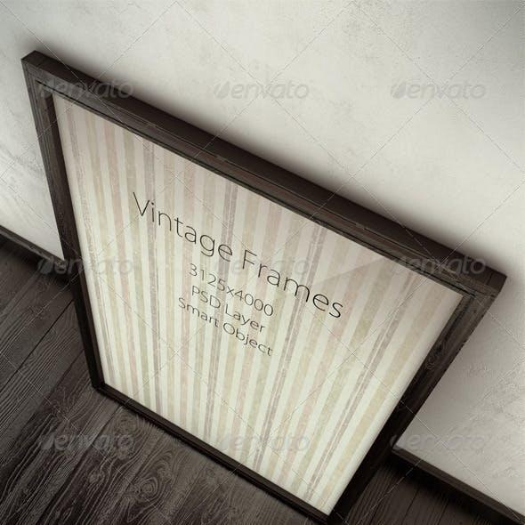 Vintage Frames Mock-Ups
