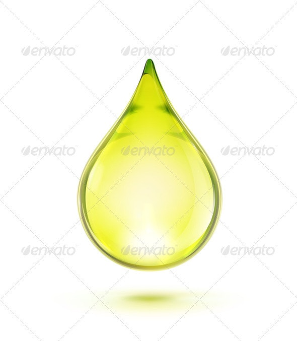 Oil Drop - Health/Medicine Conceptual