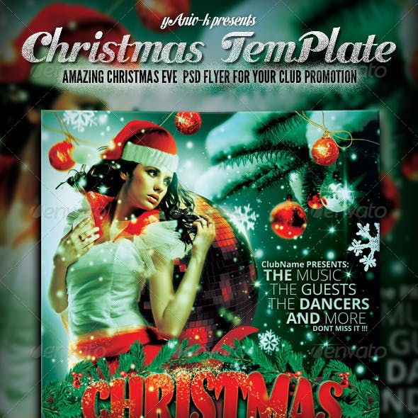 Christmas Eve Flyer Template
