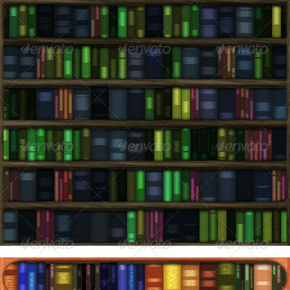 Four Library Backgrounds