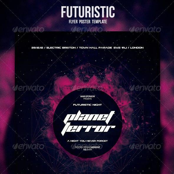 Futuristic Flyer / Poster