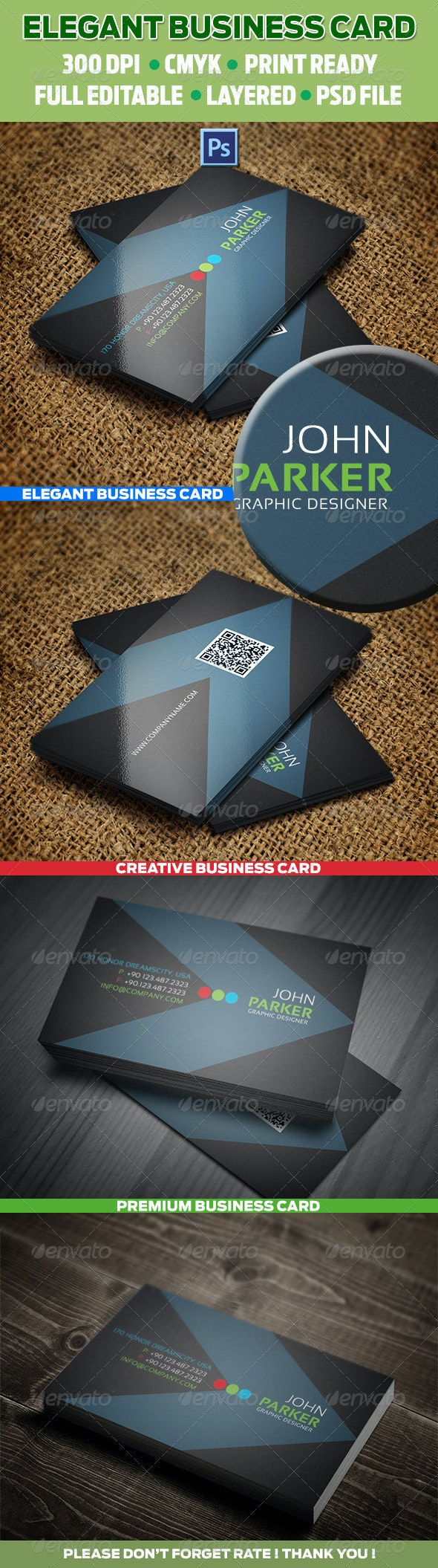Creative Business Cards 21 - Corporate Business Cards
