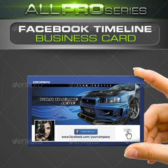 FB Timeline Business Card