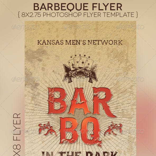 BarBeQue Flyer Template