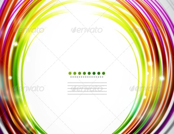 Abstract Circles Background - Backgrounds Business