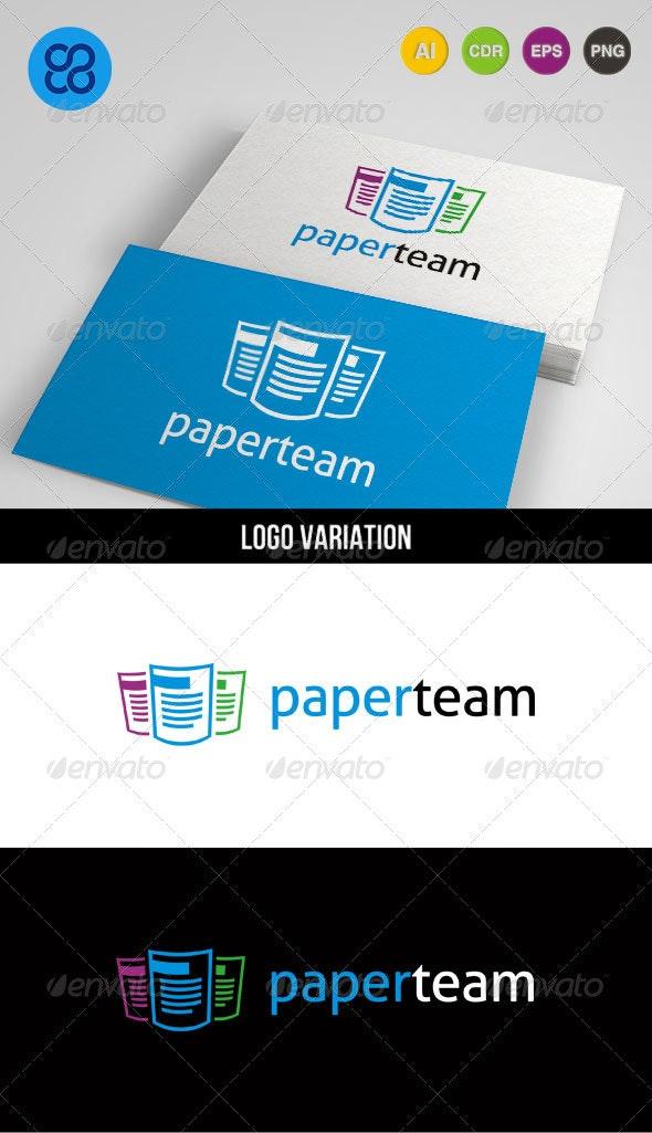 Paperteam Logo - Objects Logo Templates