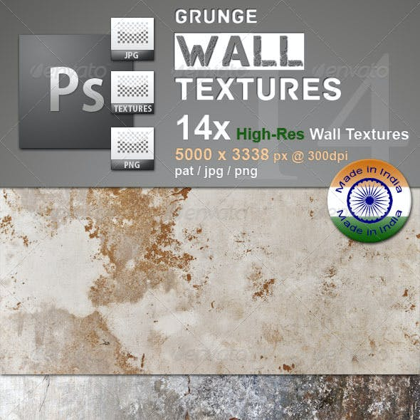 Grunge Walls Textures Imported From india