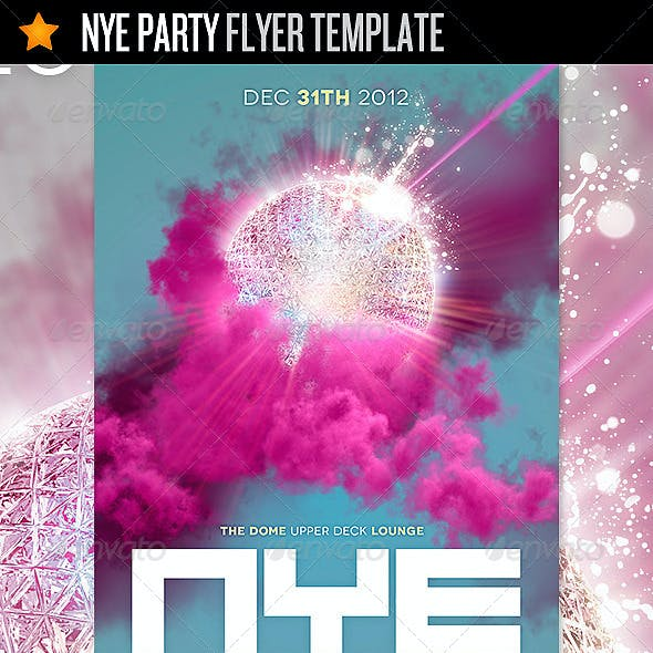NYE Party - Flyer Template