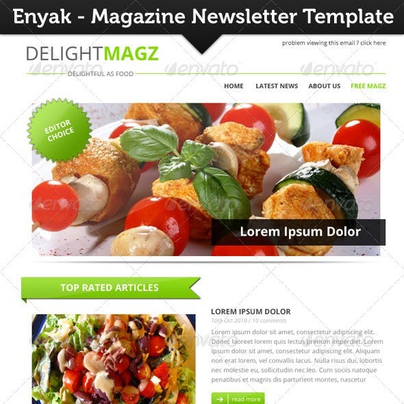 Enyak Newsletter