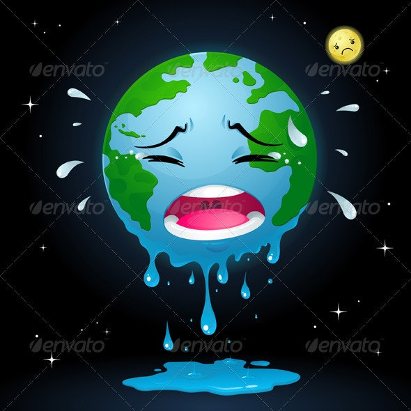 Crying Earth - Nature Conceptual