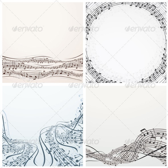 Musical Backgrounds - Backgrounds Decorative