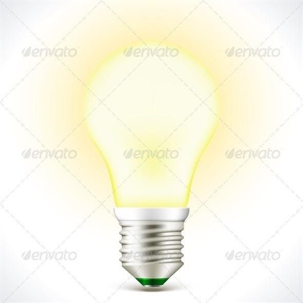 Lighted Energy saving Bulb Lamp