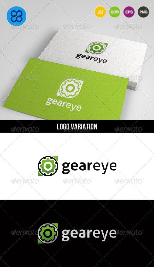 Gear Eye - Symbols Logo Templates