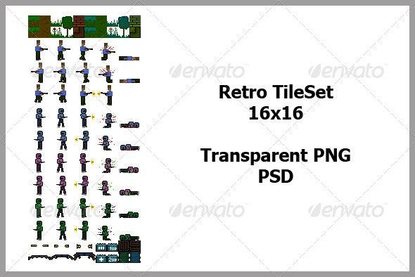 Retro TileSet