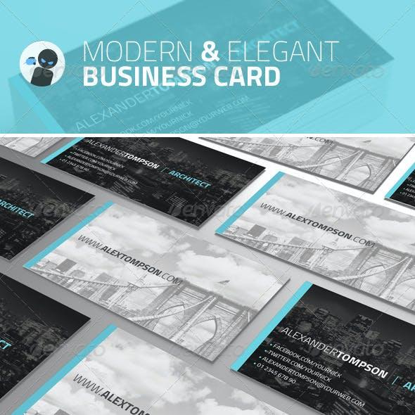 Modern and Elegant - Business Card