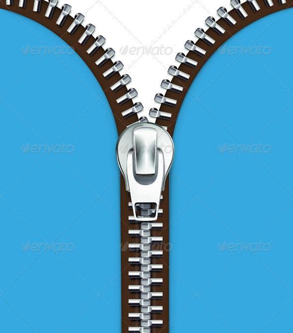 zipper - Man-made Objects Objects