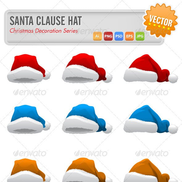 Santa Clause Hats