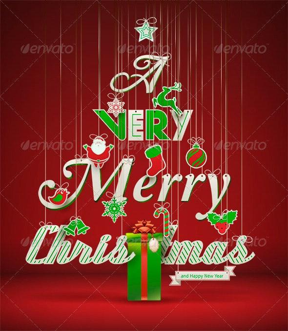 A Very Merry Christmas - Christmas Seasons/Holidays
