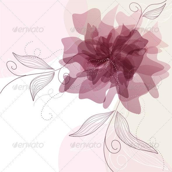 Floral Background - Weddings Seasons/Holidays