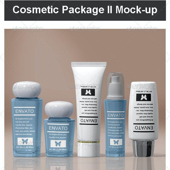 Cosmetic Package II Mock-up