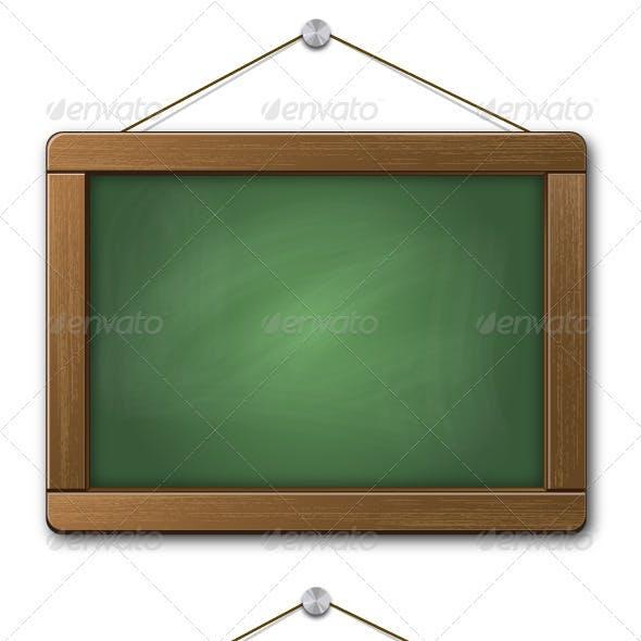 Blank Hanging Chalkboard Signs