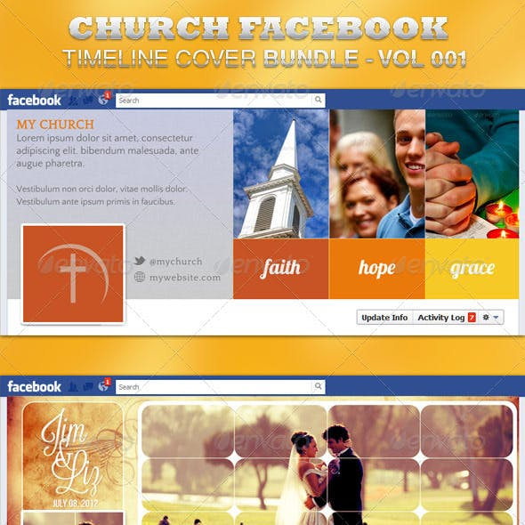Church FB Timeline Cover Bundle