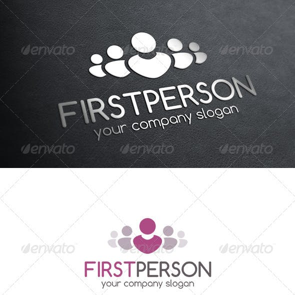 First Person Logo