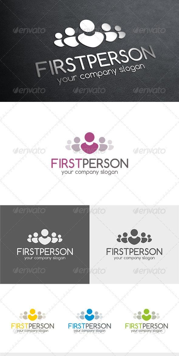 First Person Logo - Humans Logo Templates