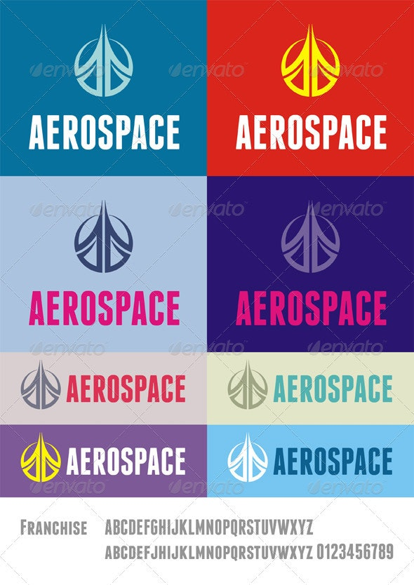 AeroSpace Logo - Abstract Logo Templates