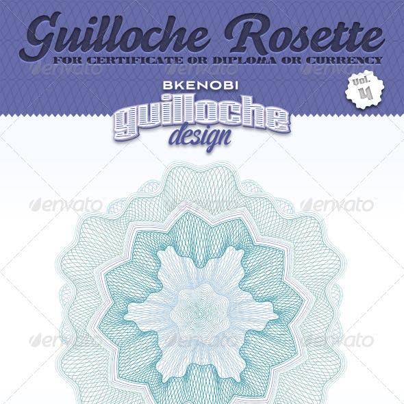 Guilloche Rosette Vol.4