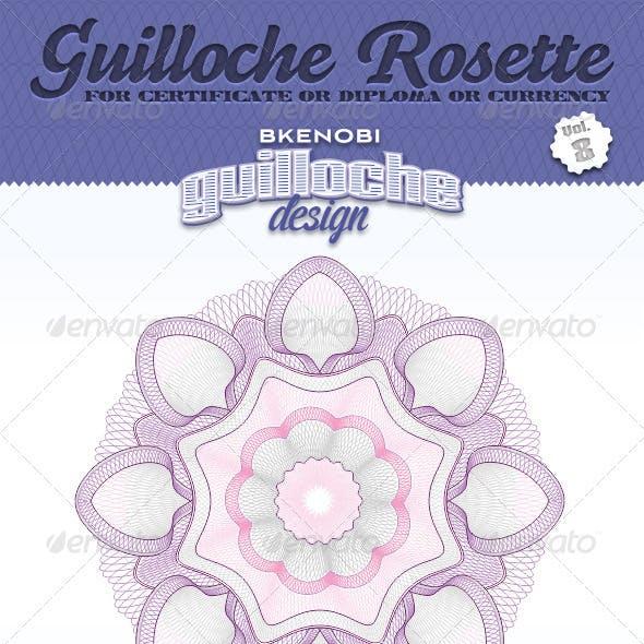 Guilloche Rosette Vol.8