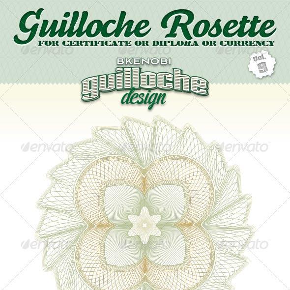 Guilloche Rosette Vol.9