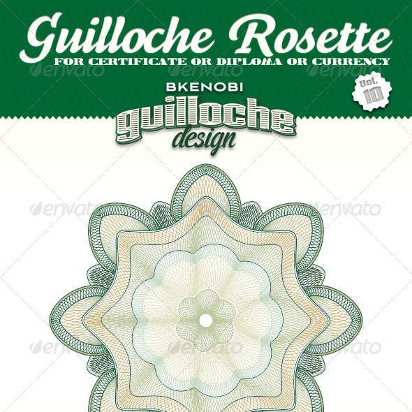 Guilloche Rosette Vol.10