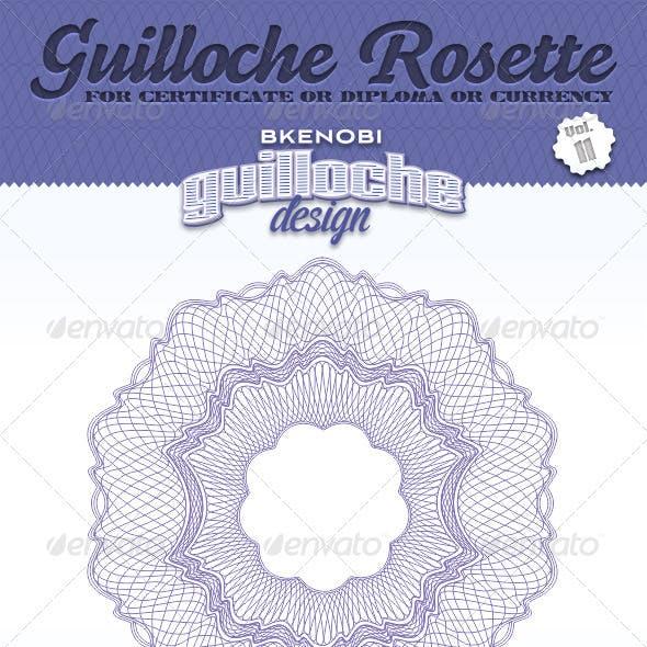 Guilloche Rosette Vol.11