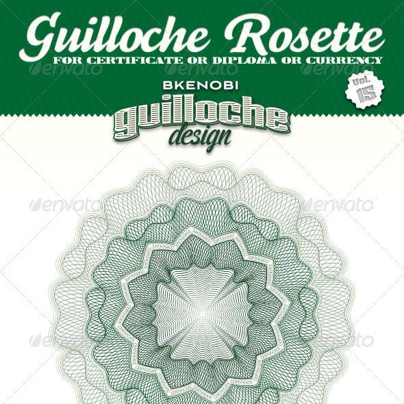 Guilloche Rosette Vol.15