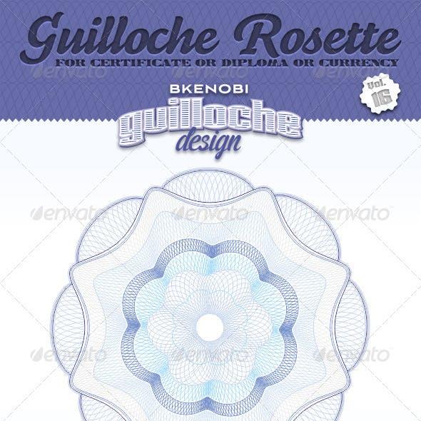 Guilloche Rosette Vol.16
