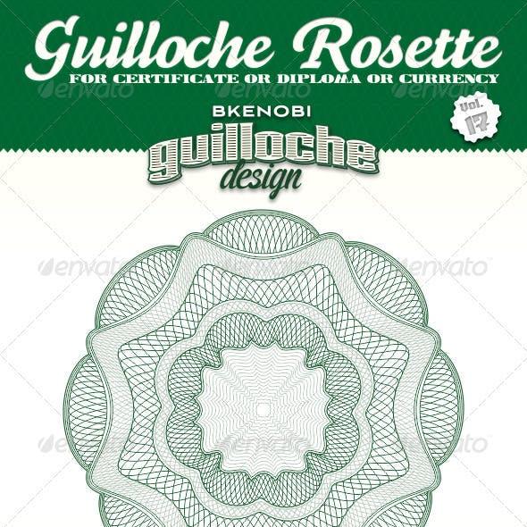 Guilloche Rosette Vol.17