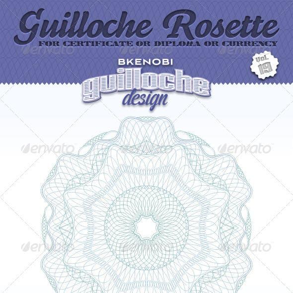 Guilloche Rosette Vol.19