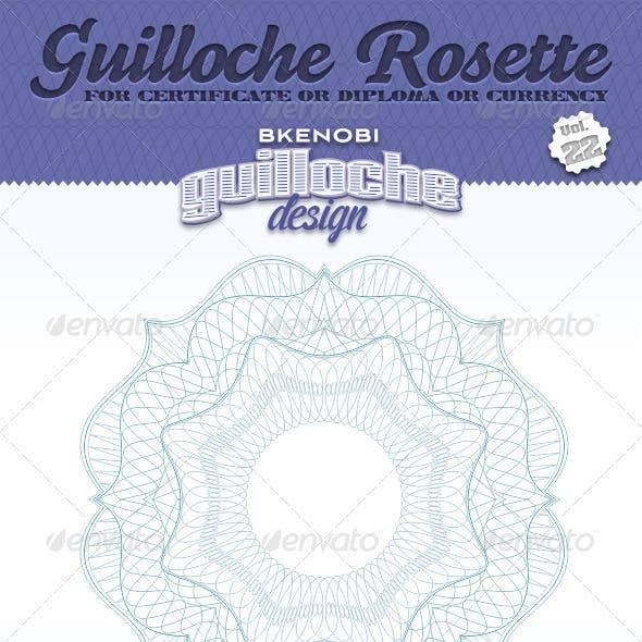 Guilloche Rosette Vol.22