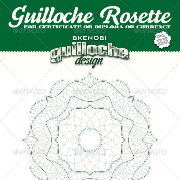 Guilloche Rosette Vol.23