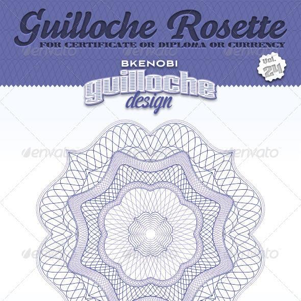 Guilloche Rosette Vol.24